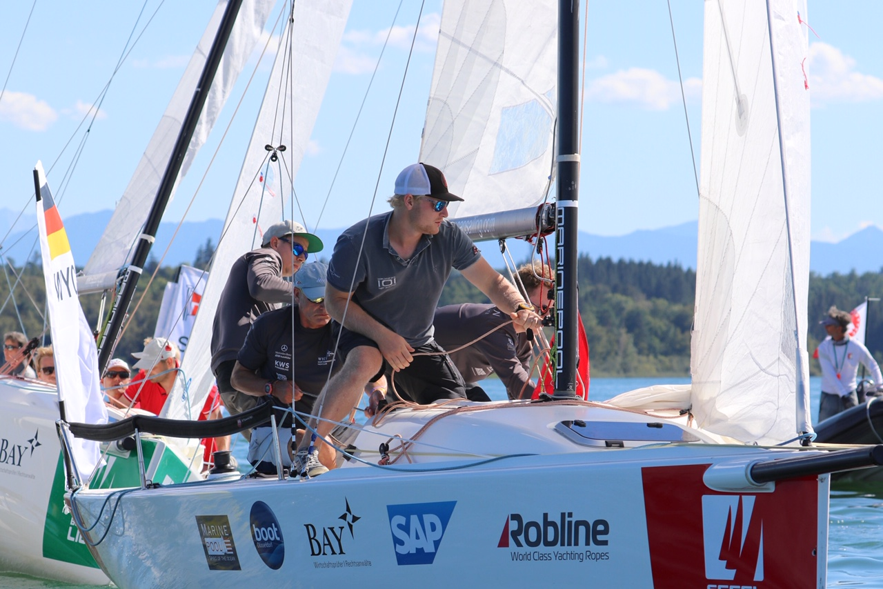Württembergischer Yacht Club KWS Sponsoring SAP Robline Marine Pool Logo