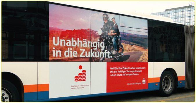 KWS Außenwerbung Sparkasse Hessen-Thüringen